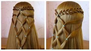 Coiffure Tresse Facile Cheveux Mi Long : coiffure simple et rapide pour cheveux long mi long ~ Melissatoandfro.com Idées de Décoration