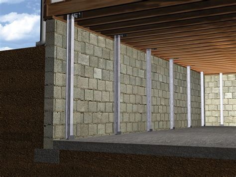 The PowerBrace? Wall Repair System Installation in Ohio