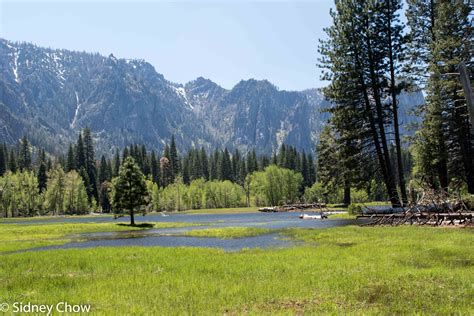 Yosemite National Park Part Spectacular Waterfalls