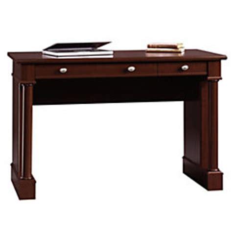 sauder palladia writing desk cherry sauder palladia writing computer desk 30 14 h x 46 34 w x