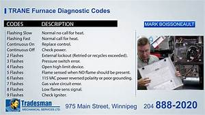 Trane Xv90 Red Light Codes