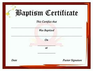 baptism certificate template free template update234com With free printable baptism certificates templates