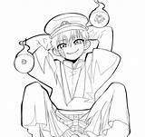 Coloring Hanako Kun Toilet Bound Yashiro Manga Moments Nene Anime Jibaku Coloringhome sketch template