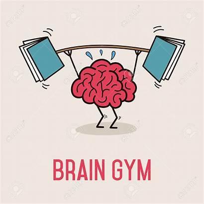 Brain Gym Clipart Vector Exercise Illustration Cartoon