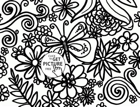 Coloring Pages Spring Coloring Pages To Download And