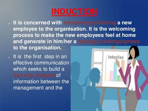 induction programme  orientation   human resource