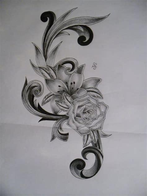 tattoosuzette  deviantart tattoos flower tattoo