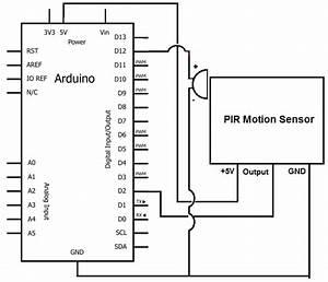 Motion Detector Alarm Circuit  Constant Alarm When