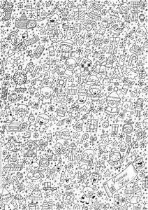 Jeux Anti Stress : j 3 coloriage de no l et cartes imprimer des p 39 tits ~ Melissatoandfro.com Idées de Décoration