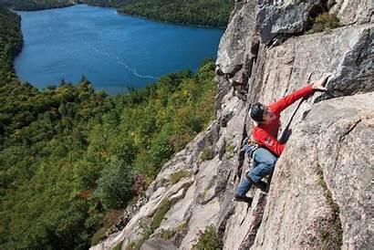 Climbing Acadia Rock Guide Sasha Trad Coastal