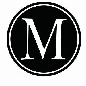 Vinyl lettering m monogram vinyl krazy vinyl lettering for Monogram letter m