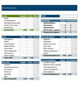 Monthly Budget Excel Spreadsheet Spreadsheet Templates 20 Free Excel Pdf Documents Free Premium Templates
