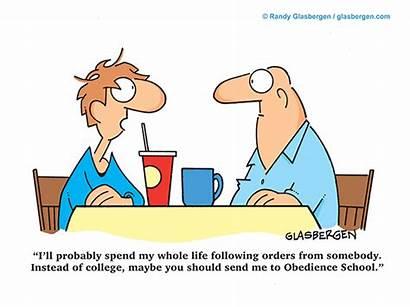 College Cartoons Graduation Cartoon Following Glasbergen Education
