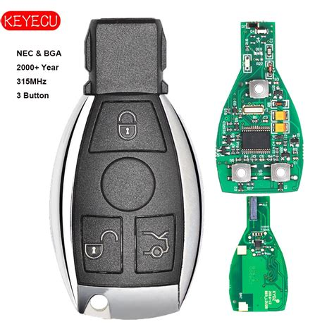 Smartkey starter® works through your factory smart key. Keyecu Smart Key 3 Buttons 315MHz/433MHz for Mercedes Benz Auto Remote Key Support NEC And BGA ...