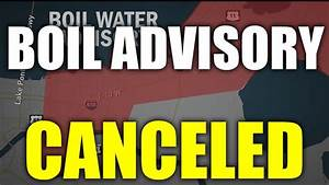 Boil water advisory canceled for east bank of Orleans ...