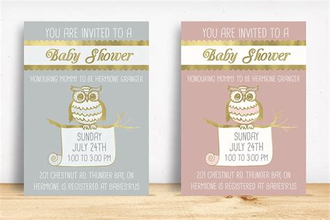 printable owl baby shower invitation templates texty cafe