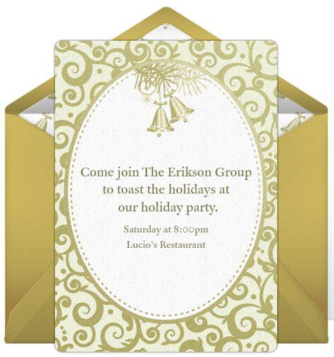 company holiday party invitations