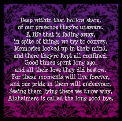 alzheimers poem ideas  pinterest alzheimers