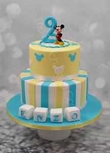 Gateau Anniversaire 2 Ans : pi ce mont e anniversaire 2 ans th me mickey cake design ~ Farleysfitness.com Idées de Décoration