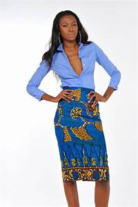 African Print - Mrembo wa ofisi Pencil Skirt | African ...