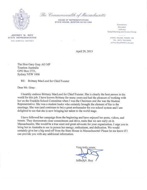 high school recommendation letter sle