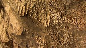 Title Down Cave Wall With Bumpy Texture Stock Footage ...
