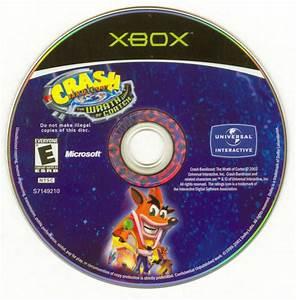 Crash Bandicoot The Wrath Of Cortex 2002 Xbox Box Cover