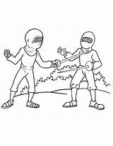 Coloring Fencing Olympic Boxing Clipart Popular Library Clip sketch template