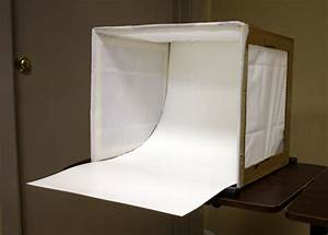 Make A Light Box For Miniature Photography For Under  5