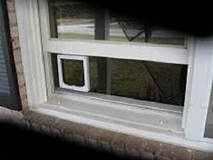 clear window mounted cat door for sash windows catmate With plexi door dog door