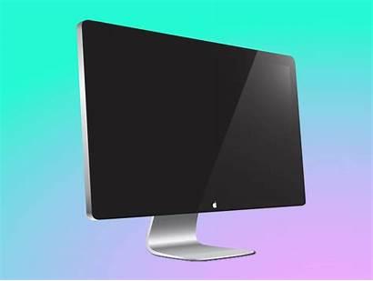 Screen Mac Vector Apple Computer Monitor Display