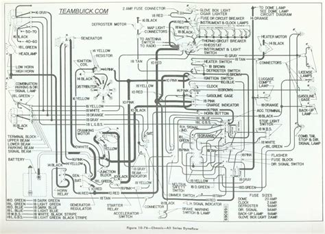 55 Cadillac Wiring by 1955 Buick Wiring Diagrams Dynaflow
