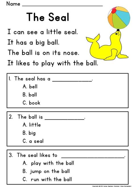 learning to read worksheets for kindergarten 1000 images