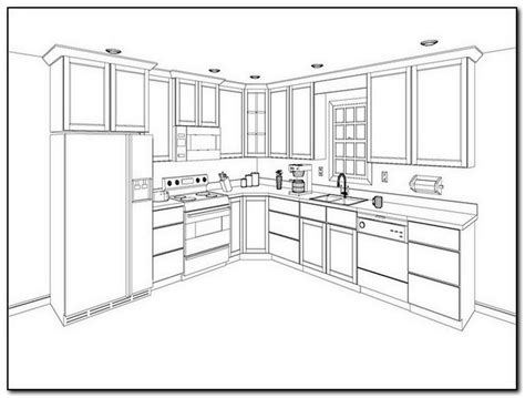 kitchen cabinet layout plans finding your kitchen cabinet layout ideas home and 5554