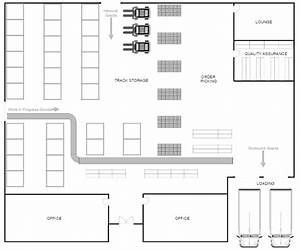 Warehouse layout design software free download for Warehouse floor plan template