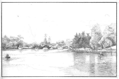 Perspective In Landscape Drawing