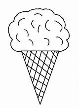 Ice Cream Coloring Pages Printable Cool2bkids Cone Sheets Template sketch template