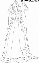 Queens sketch template