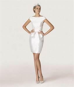 je veux une petite robe blanche pour mon mariage civil With robe pour mariage civil avec parure diamant mariage