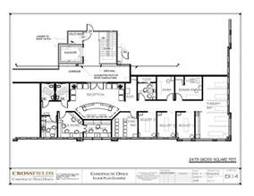 large single story house plans chiropractic clinic floor plans