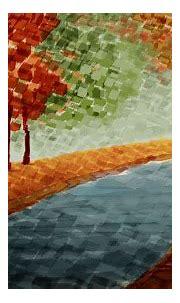 Beautiful Abstract Spring Scenery Art Wallpaper ~ Artline ...