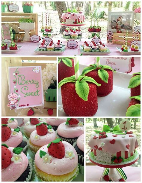 kara 39 s party ideas strawberry 1st birthday party kara 39 s kara 39 s party ideas strawberry shortcake birthday party at