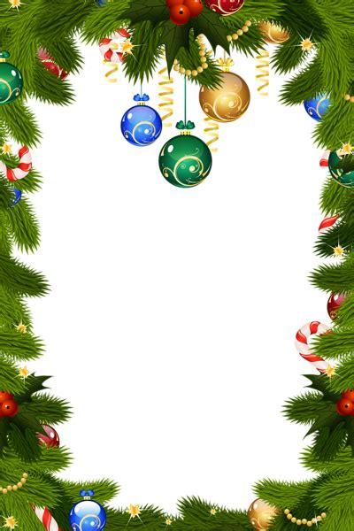 transparent christmas png frame border gallery yopriceville high