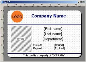 id card design With work badges template