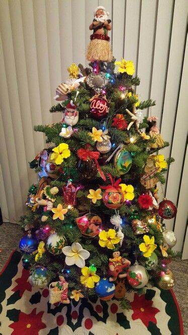 hawaiian christmas tree aloha  hawaii