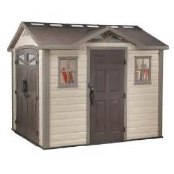 keter summit shed 8 feet x 9 5 feet home depot canada
