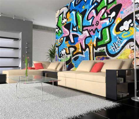 Tapisserie Tag Graffiti by Papier Peint Graffiti Lavieenrouge