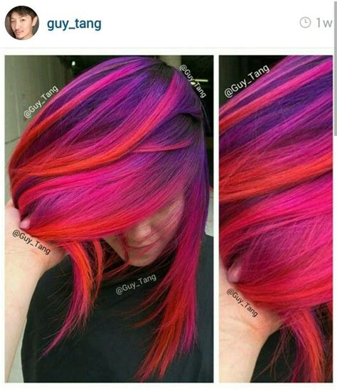 Follow Guytang On Ig Sunset Hair Pinterest