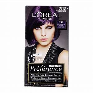 Permanent Hair Color 216 L39oral Feria Intensive Black