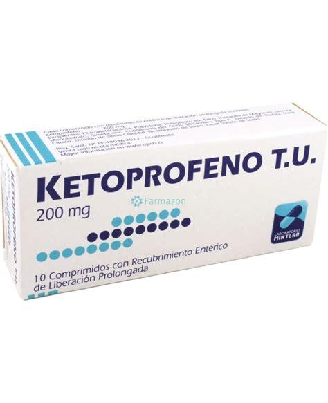 ketoprofeno  es   sirve nombre comercial  mas